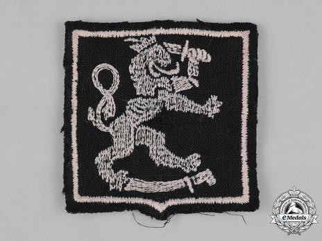 Waffen-SS Finnish Volunteer Arm Shield (1st pattern) Obverse