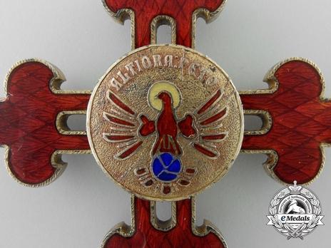 Grand Cross (Silver gilt) Reverse