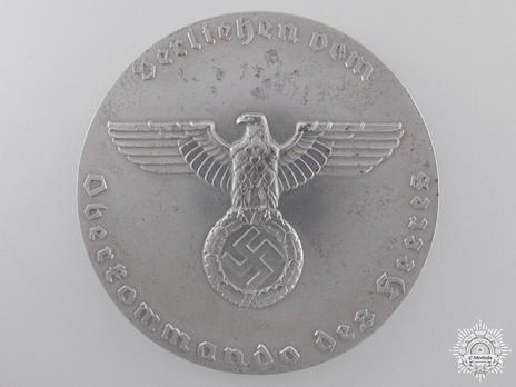Commemorative Badge for German Dog Care, Large Obverse