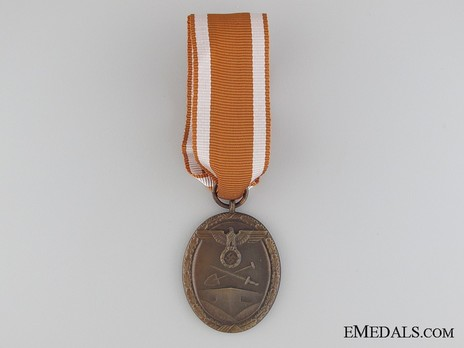 West Wall Medal Obverse