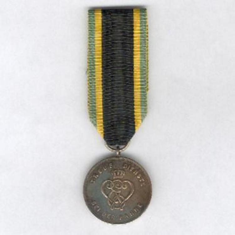 Iii class nickel silver medal obv
