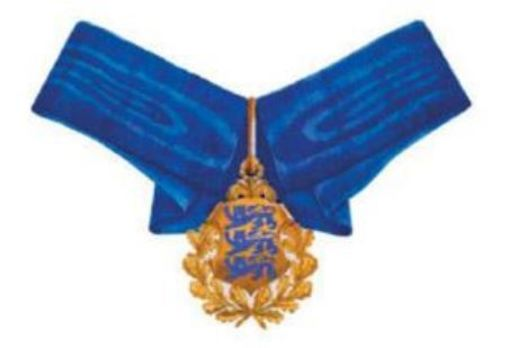 Order of the National Coat of Arms, II Class Cross Obverse