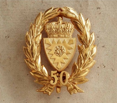 Long Service Honour Decoration for 50 Years (in gold)