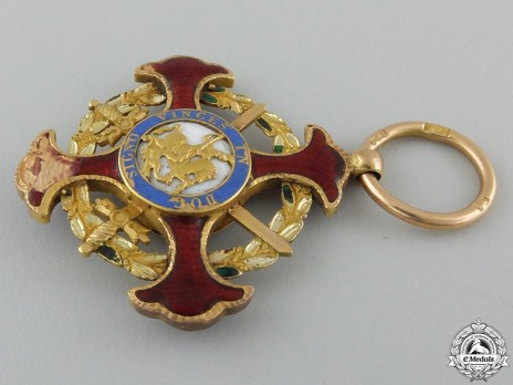 Royal Military Order of St. George of the Reunion, Knight of Justice Obverse