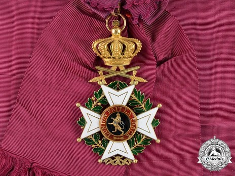 Grand Cross (Military Division, 1832-1951) Obverse