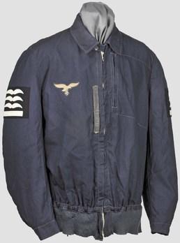Luftwaffe Blue Summer Flight Jacket Obverse