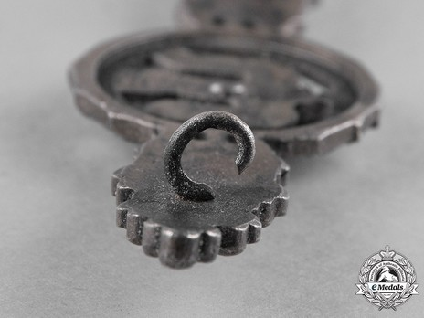 Bomber Clasp, in Silver (in tombac) Detail