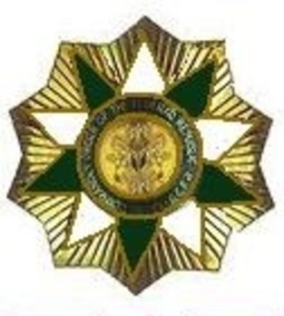 Order of the Niger, Type I, Grand Commander Breast Star