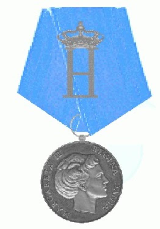 Medaljen for prins henriks 70e fodselsdag danmark1