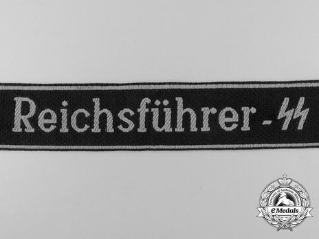 Waffen-SS Reichsführer-SS Cuff Title Obverse