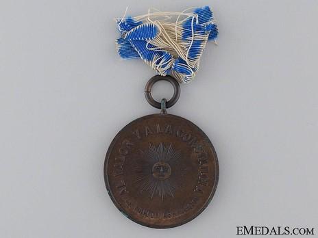 Medal Reverse (Bronze)