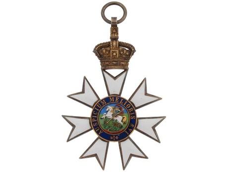 Grand Cross (with Silver-gilt by Garrard) Reverse