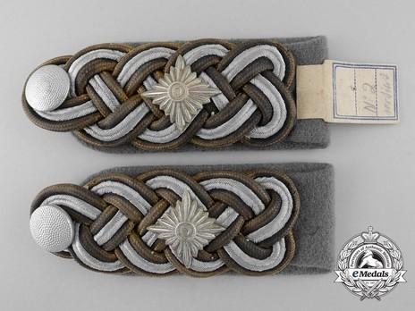 Waffen-SS Gruppenführer Shoulder Boards Obverse