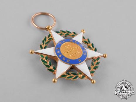 Order of Merit, II Class Grand Officer Reverse