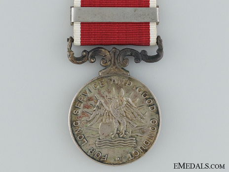 Army Long Service and Good Conduct Medal Reverse