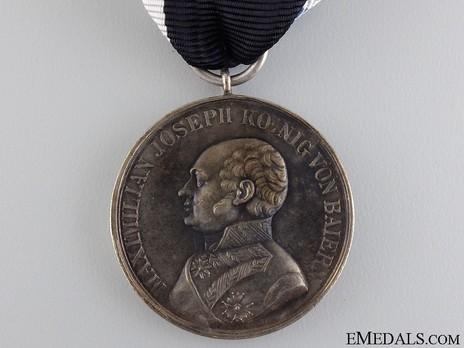 Military Merit Medal, Type III, Silver Medal Obverse