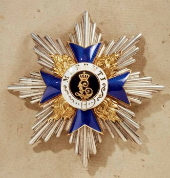 Order of Military Merit, Civil Division, I Class Cross Breast Star