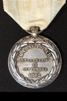 Medal of Radama II Reverse