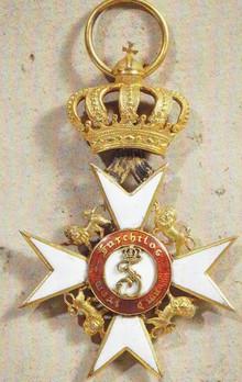 Knight Honour Cross  (1865-1892)