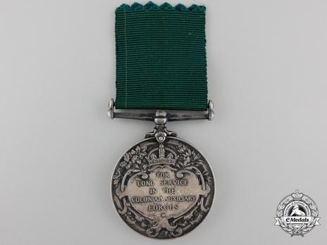 Silver Medal (1899-1901) Reverse