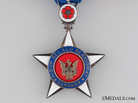 The Most Exalted Order of the Star of Sarawak, Member Obverse