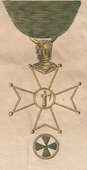 Order of St. Joachim, Honour Member Cross Obverse