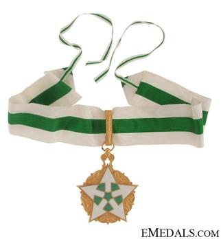 Order of Civil Merit (Wisam al-Satahaqaq al-Sun), I Class Grand Cordon Reverse
