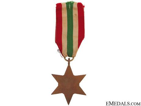 Italy Star Reverse