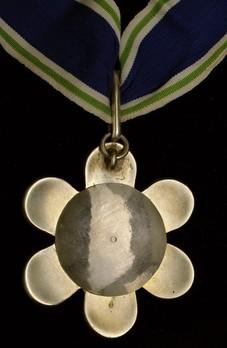 Order of Trishakti-Patta, III Class Reverse