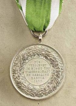 Medal for Art and Science (Anhalt-Bernburg) in Silver