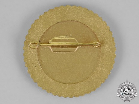 Champion Badge (for rifle) Reverse