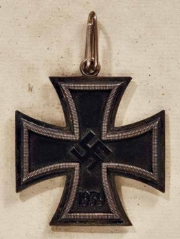Knight's Cross of the Iron Cross, by C. F. Zimmermann (unmarked) Obverse