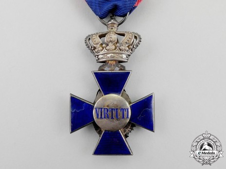 Royal Order of Merit of St. Michael, IV Class Cross (with Crown) Reverse