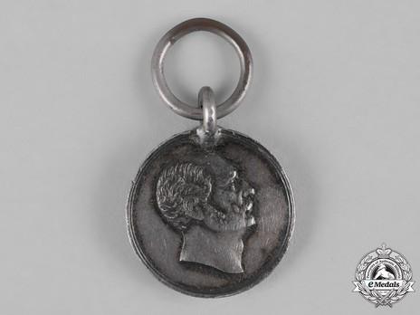 Wilhelm Long Service Medal, Type III, in Silver Obverse