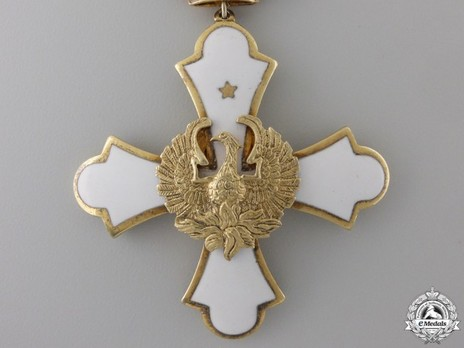 Order of the Phoenix, Type II, Civil Division, Grand Commander Obverse