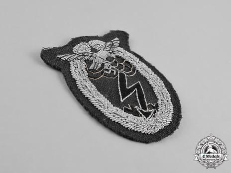 Ground Assault Badge, in Cloth (in bullion) Obverse