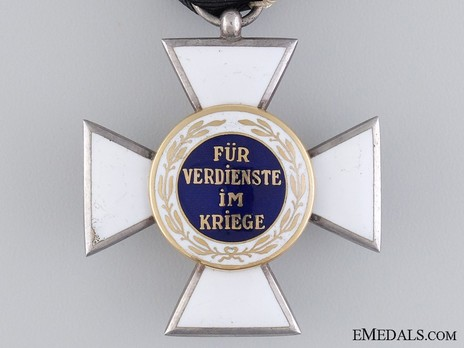Order of Military Sanitation, II Class Cross Reverse