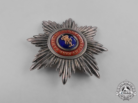 Grand Cross Breast Star (with golden crown)