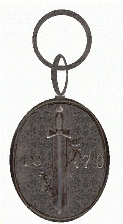 Kriegervereinsmedaille mecklenburg schwerin 1899 19182