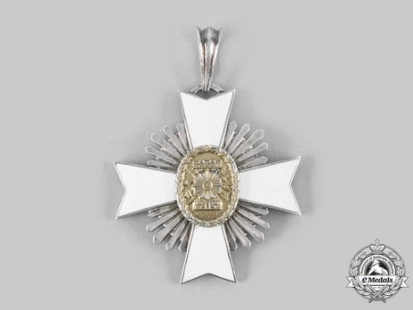 Order of May, Military Merit, Commander Reverse