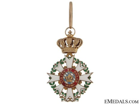 Merit Order of the Bavarian Crown, Commander (in silver) Obverse