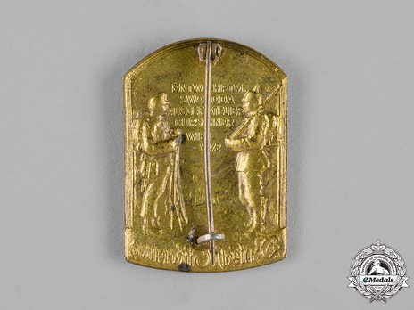 Austro-German Southern Campaign Badge Reverse