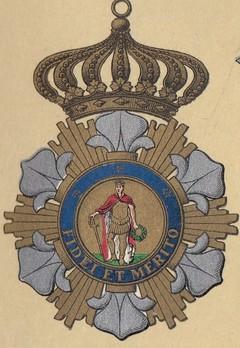 Royal Order of Saint Ferdinand and of Merit, Grand Cross Obverse