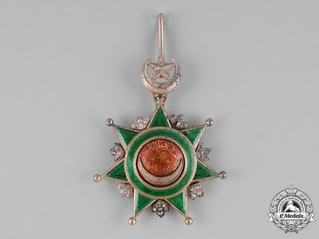 Order of Osmania, Civil Division, I Class Obverse