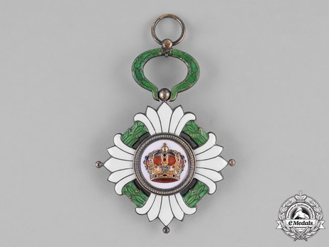 Order of the Yugoslav Crown, Grand Cross Obverse
