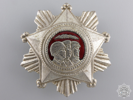 Order of Military Service Honour, III Class Obverse