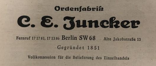 C.E Juncker Mark