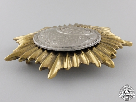 Order of Independence (Nishan-i-Istiqlal), Military Division, II Class Grand Commander Breast Star Obverse