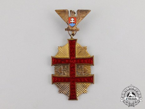 Order of the Military Victory Cross, Type I, I Class Obverse