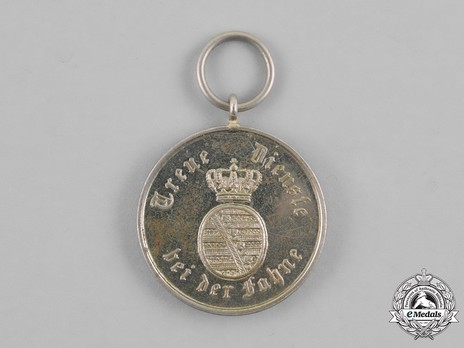 Long Service Decoration, Type III, III Class Medal for 9 Years